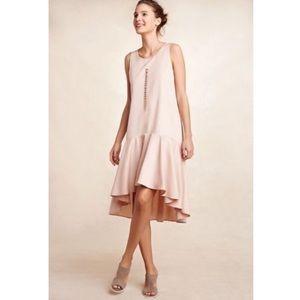 Anthropologie Maeve Camellia Dropwaist Dress